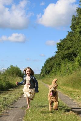 Wenn Kinder und Haustiere gemeinsam aufwachsen ...